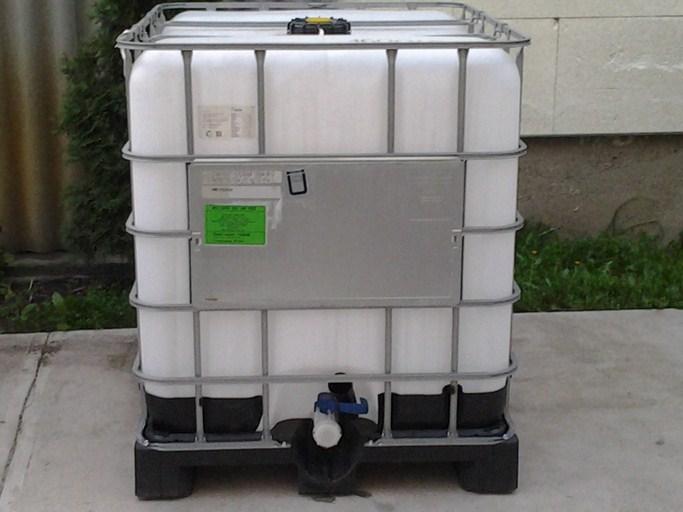 1000l-es IBC diesel, vegyi tartály, ÚJ és RECO