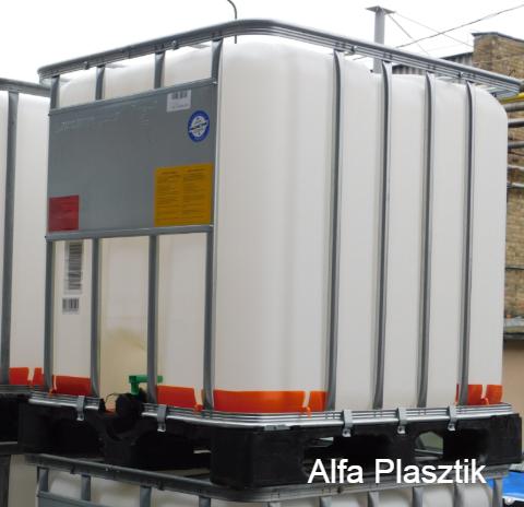 Poly-EX 1000 l-es IBC tartály gyúlékony vegyianyaghoz