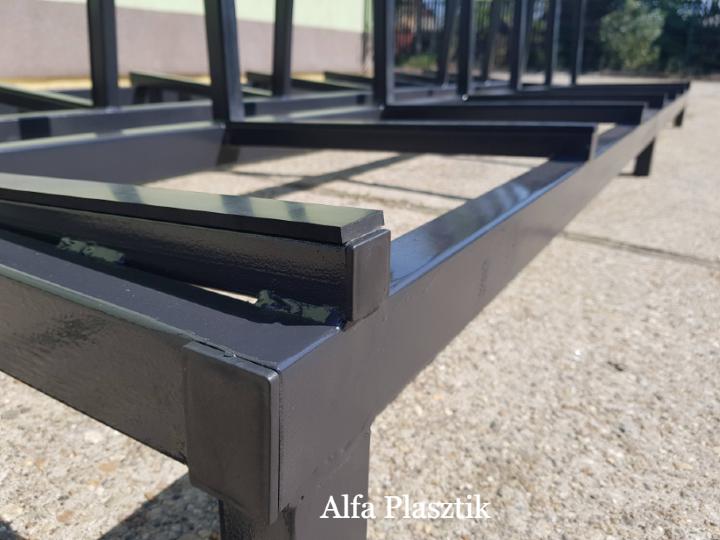 Ipari üveg, tükör, ablakszállító állvány